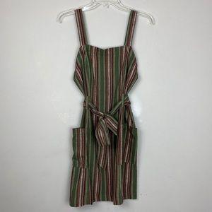 Aeropostale jumper/bib dress w/ adj straps medium